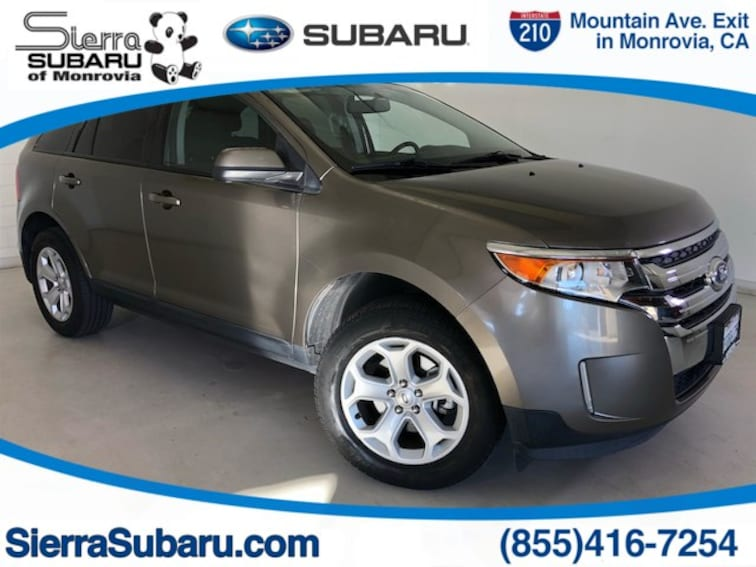Used 2014 Ford Edge SEL SUV For Sale in Monrovia, CA
