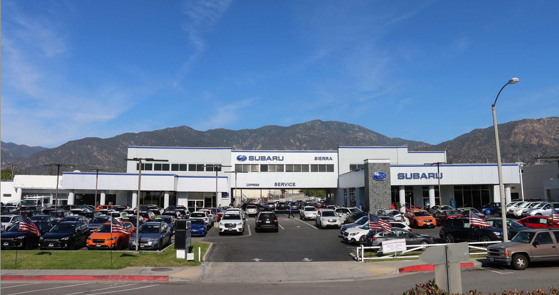 Sierra Subaru Of Monrovia Subaru Dealer In Monrovia Ca