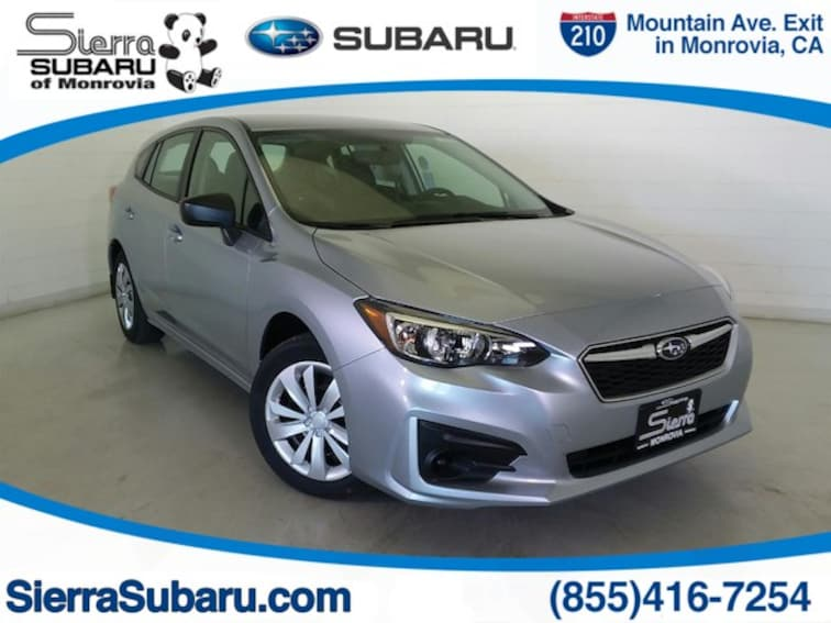 New 2019 Subaru Impreza 2.0i 5-door for sale in Monrovia, CA
