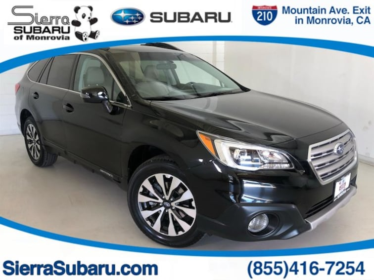 Certified Pre-Owned 2016 Subaru Outback 2.5i Limited SUV For Sale Monrovia, CA