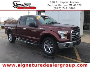 2016 Ford F-150 4WD SuperCab 145 XLT Truck