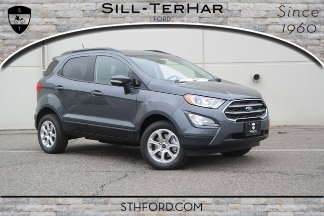 New 2019 Ford EcoSport SE SUV Near Denver