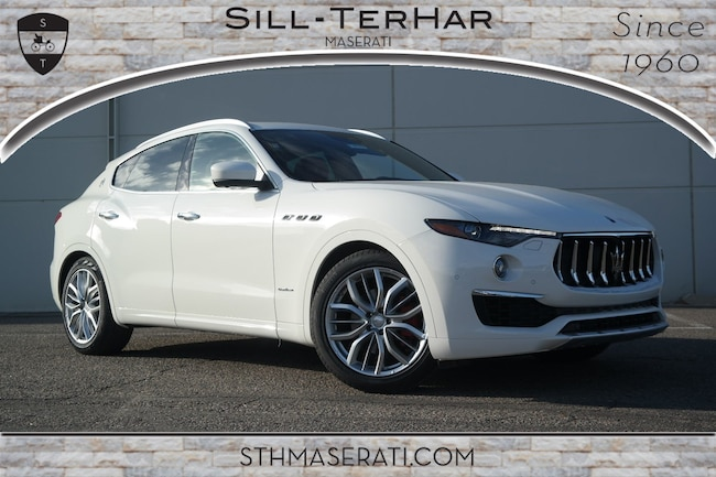 New 2019 Maserati Levante GranLusso SUV Near Denver