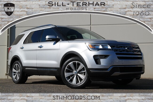 2018 Ford Explorer Limited Limited 4WD