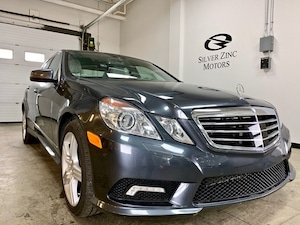 2010 Mercedes-Benz E-Class 550 4Matic, 4Dr, AMG pkg, One OWNER, LOCAL