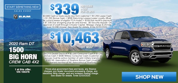 Simi Valley Dodge >> New Car Specials Chrysler Dodge Jeep Ram Deals Simi