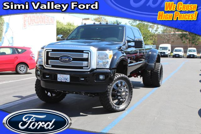 2016 Ford F-450SD Platinum Truck