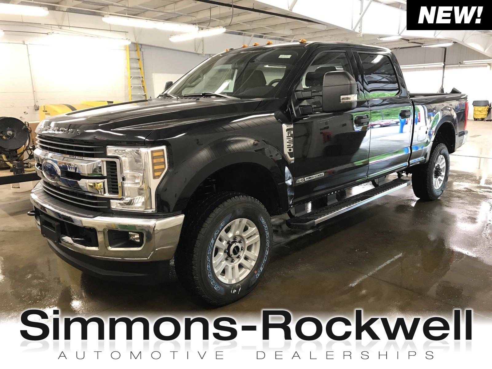 2019 Ford Super Duty F-250 SRW XLT XLT 4WD Crew Cab 6.75 Box