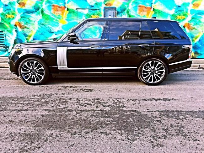 2017 Land Rover Range Rover AUTOBIOGRAPHY LONG WHEEL BASE LWB SUV