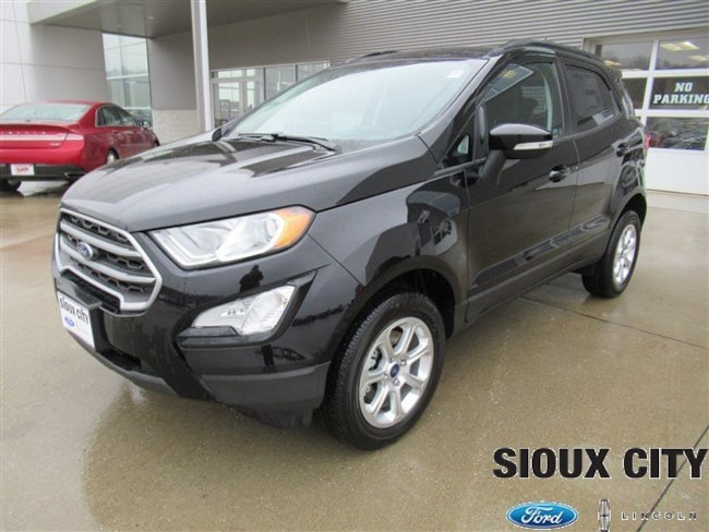 Sioux City Ford >> New 2018 Ford Ecosport For Sale At Sioux City Ford Lincoln Vin