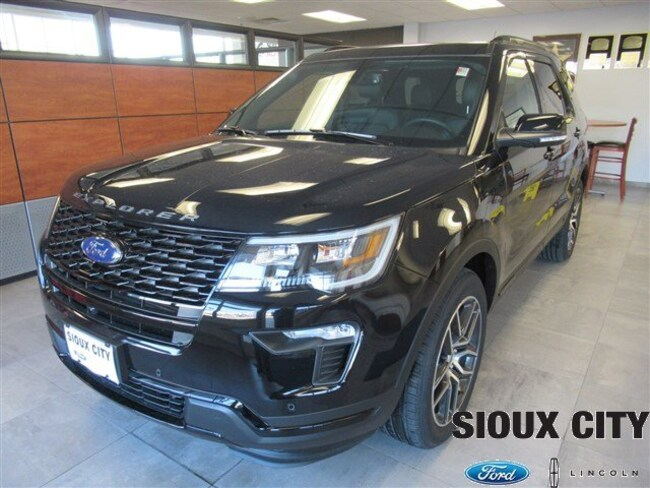 Sioux City Ford >> New 2019 Ford Explorer For Sale At Sioux City Ford Lincoln Vin