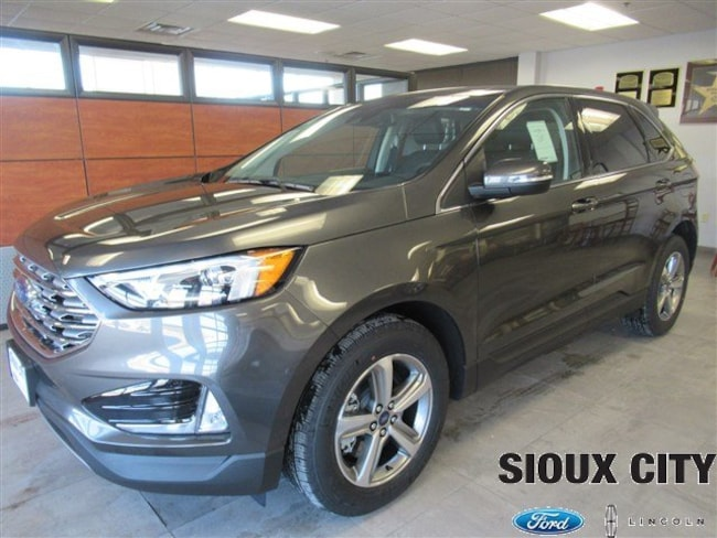 Sioux City Ford >> New 2019 Ford Edge For Sale At Sioux City Ford Lincoln Vin