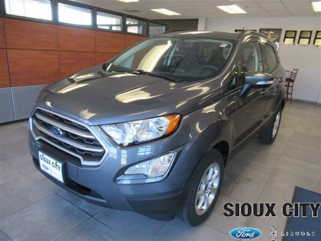 Sioux City Ford >> New 2019 Ford Ecosport For Sale At Sioux City Ford Lincoln Vin