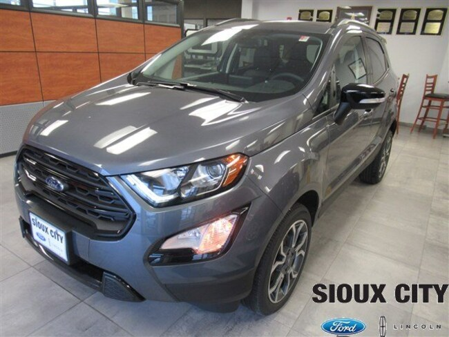 Sioux City Ford >> New 2019 Ford Ecosport For Sale At Sioux City Ford Lincoln