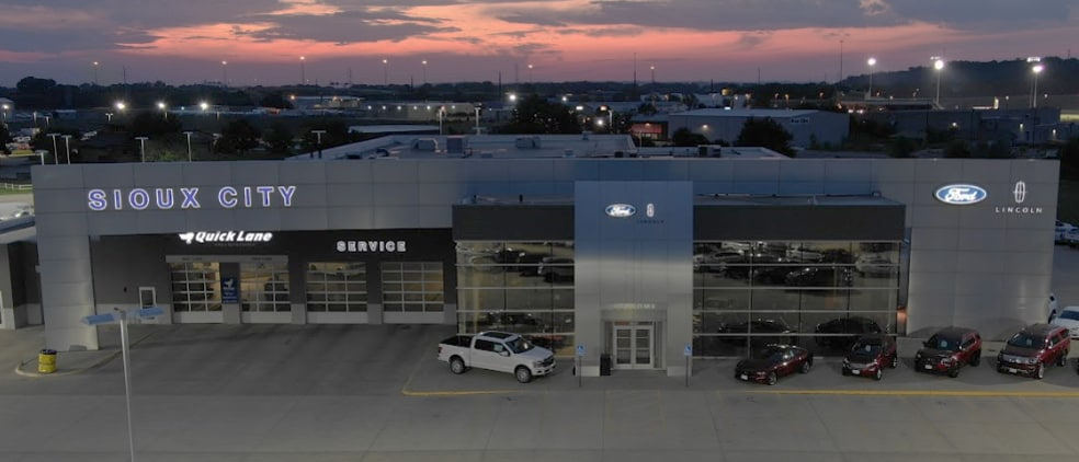 Sioux City Ford >> Sioux City Ford Lincoln Ford Dealership In Sioux City Ia