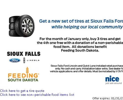 Ford Dealer Car Parts Specials Brakes Tires Alignment Coupons