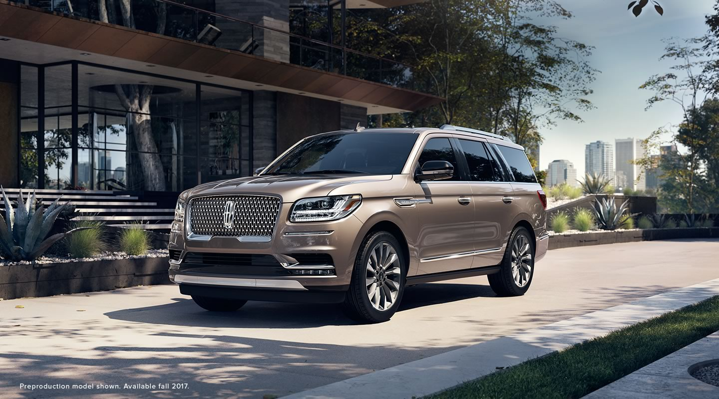 Inside The New 2018 Lincoln Navigator At Sioux Falls Ford Lincoln