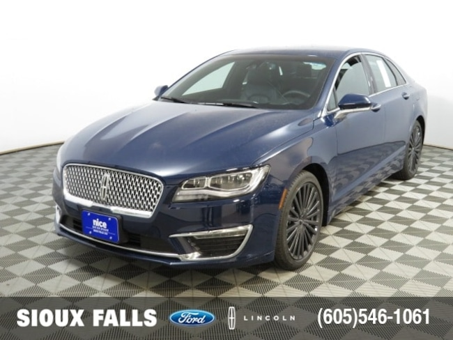 New 2018 Lincoln Mkz For Sale In Sioux Falls Sd 80797