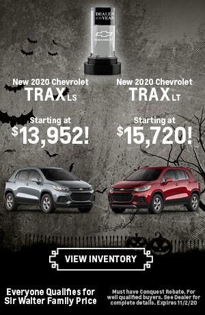 October | New 2020 Chevrolet Trax LS New 2020 Chevrolet Trax LT