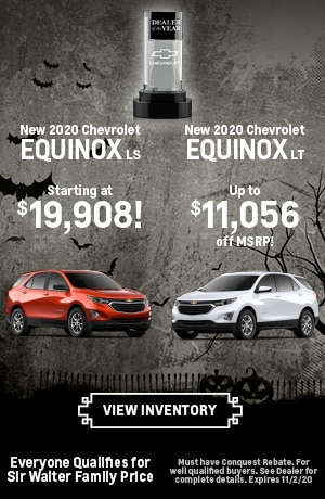 October |  New 2020 Chevrolet Equinox LS New 2020 Chevrolet Equinox LT