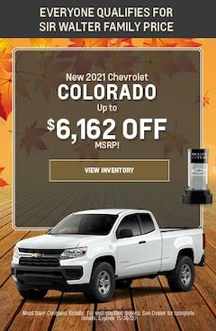 November   New 2021 Chevrolet Colorado