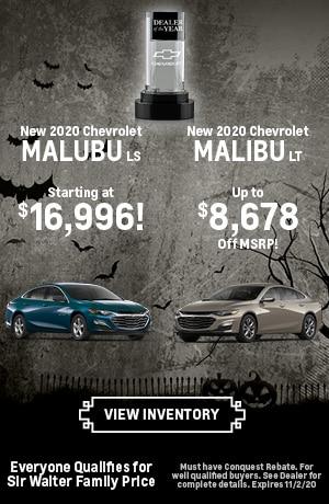 October | New 2020 Chevrolet Malubu LS New 2020 Chevrolet Malibu LT
