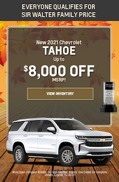 November   New 2021 Chevrolet Tahoe