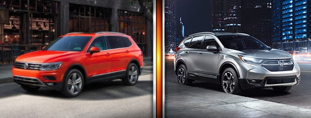 2019 VW Tiguan vs. 2019 Honda CR-V