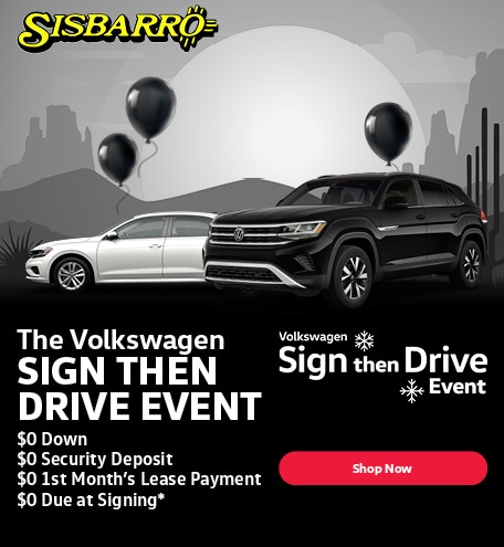 The Volkswagen Sign then Drive Event