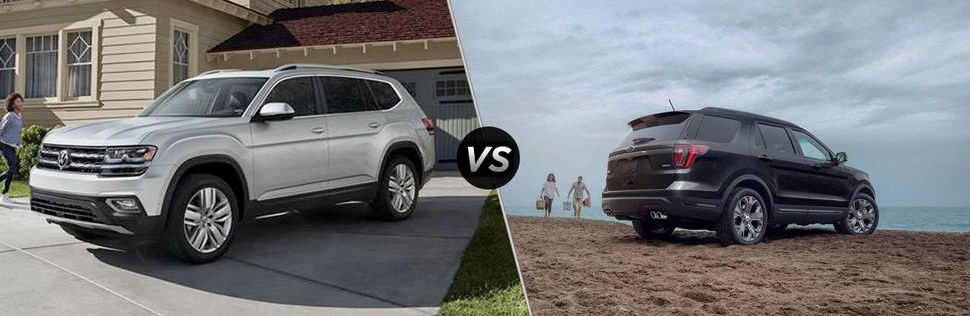 2019 Volkswagen Atlas vs. 2019 Ford Explorer