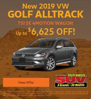 New2019VW Golf AlltrackTSI SE 4MOTIONWagon