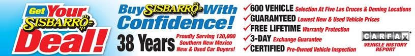 Sisbarro Chrysler Dodge Jeep RAM Extra Effort Financing
