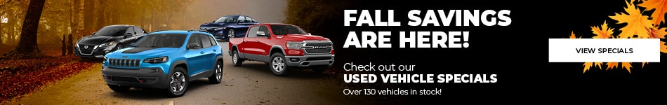 Fall Savings are Here!