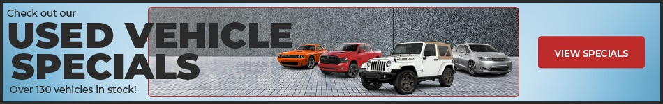 Check out our used vehicle specials