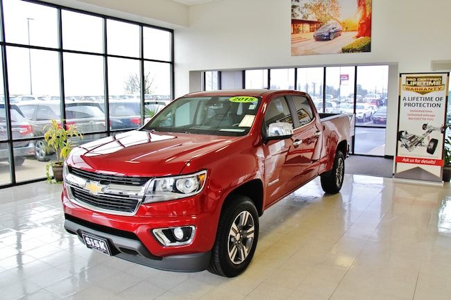 2015 Chevrolet Colorado LT V6 4WD Leather Crew Cab