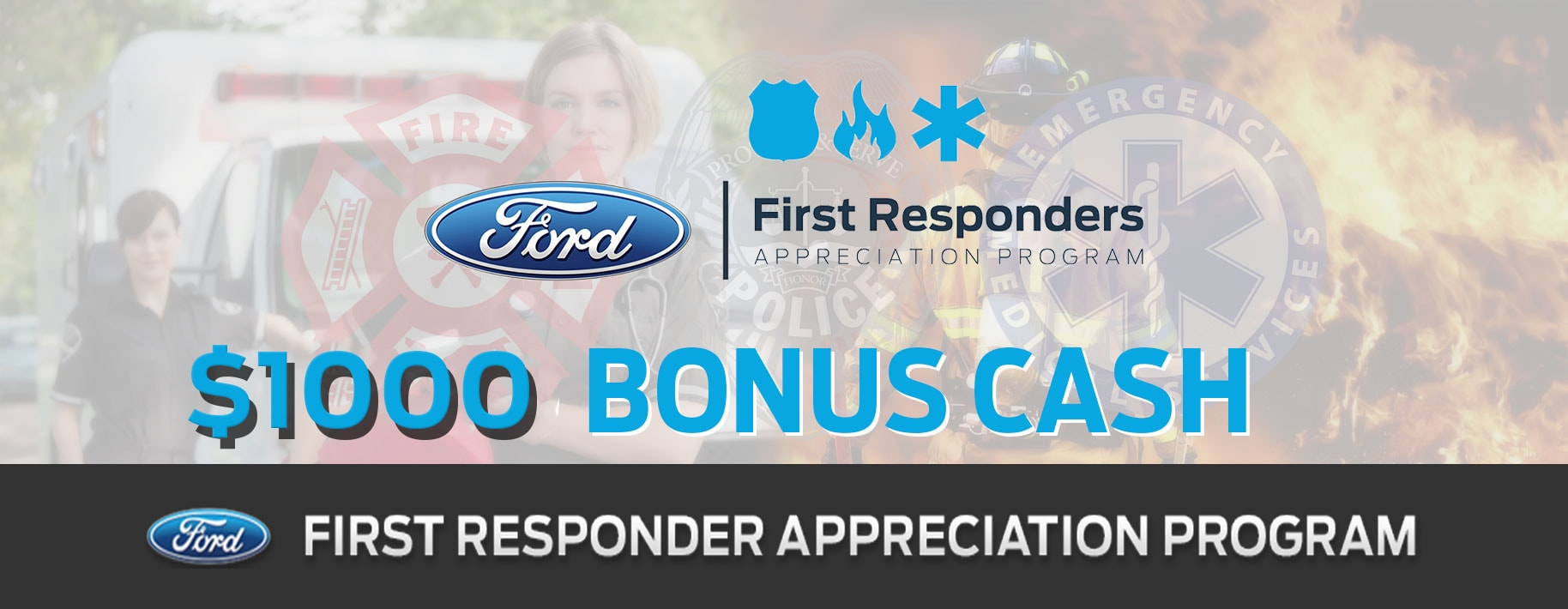 Ford First Responder >> First Responder Appreciation Program Skalnek Ford