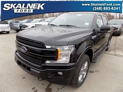 New 2019 Ford F-150 Lariat Truck N23063 for Sale in Lake Orion, MI, at Skalnek Ford