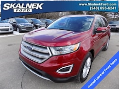 Certified Pre-Owned 2015 Ford Edge SEL SUV U7800 for Sale in Lake Orion, MI, at Skalnek Ford