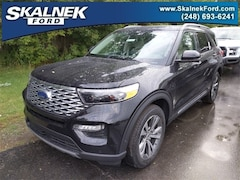 New 2020 Ford Explorer Platinum SUV N23780 for Sale near Oxford, MI, at Skalnek Ford