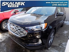 New 2019 Ford Edge SEL SUV N22660 for Sale near Oxford, MI, at Skalnek Ford