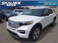 New 2020 Ford Explorer Platinum SUV N23552 for Sale near Oxford, MI, at Skalnek Ford