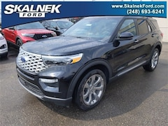 New 2020 Ford Explorer Platinum SUV N23739 for Sale near Oxford, MI, at Skalnek Ford