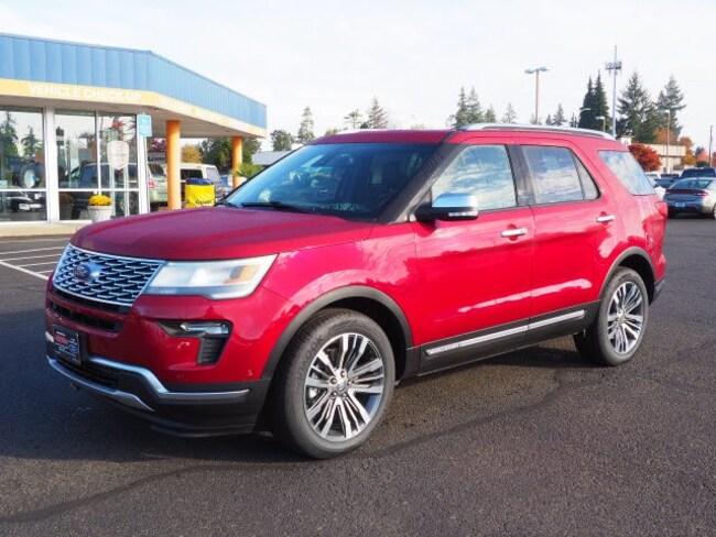 New 2019 Ford Explorer Platinum SUV For Sale/Lease Salem, OR