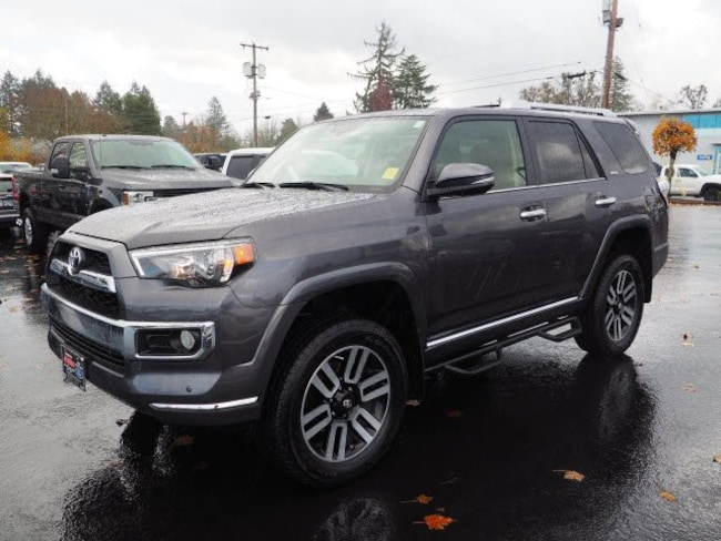Used 2017 Toyota 4Runner Limited SUV For Sale Salem, OR