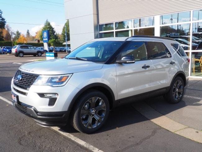 New 2018 Ford Explorer Sport SUV For Sale/Lease Salem, OR