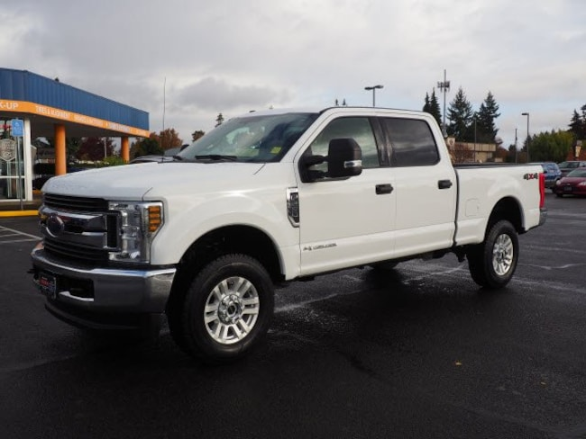Used 2018 Ford Super Duty F-250 SRW XLT Truck Crew Cab For Sale Salem, OR