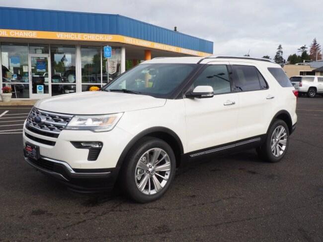 New 2019 Ford Explorer Limited SUV For Sale/Lease Salem, OR