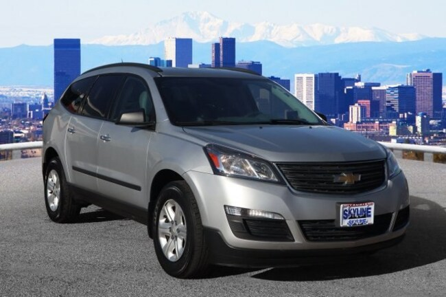 Used 2015 Chevrolet Traverse LS SUV in Thornton near Denver