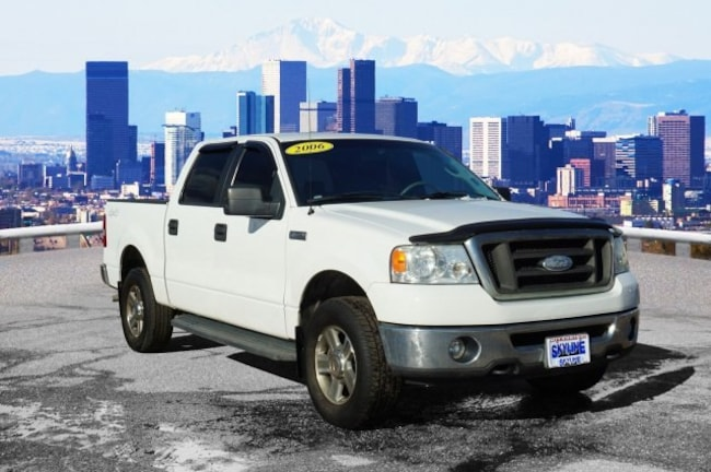 Used 2006 Ford F-150 SuperCrew XLT Truck SuperCrew Cab in Thornton near Denver