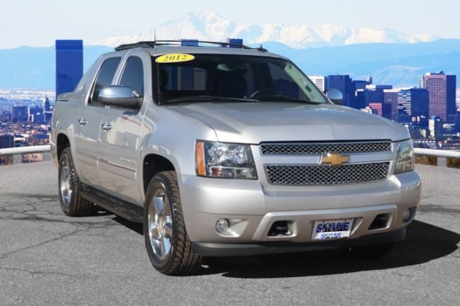 Used 2012 Chevrolet Avalanche LTZ Truck Crew Cab in Thornton near Denver